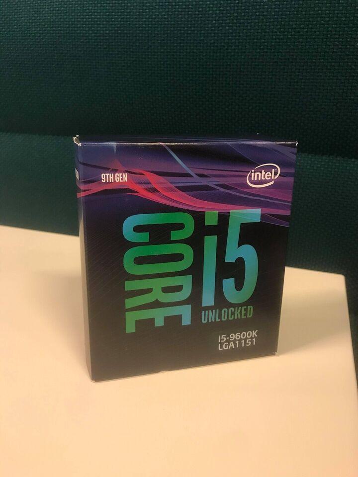 Intel i5 Unlocked, 9th gen, Intel