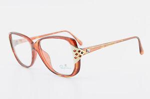 4188 10 55 Nachdenklich Saphira Brille Mod 14 130 Optyl Eyeglasses Frame 80s Lcm Nos Woman