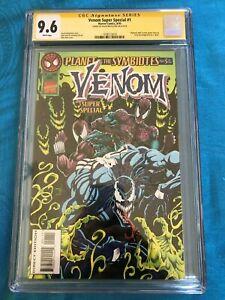Venom-Super-Special-1-Marvel-CGC-SS-9-6-NM-Signed-by-David-Micheline