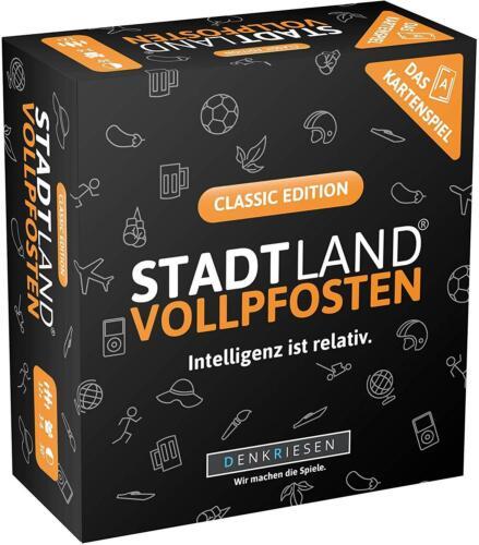 Denkriesen-Ville Pays vollpfosten jeu de cartes-Junior Classic Feu Rouge Clignotant Edition