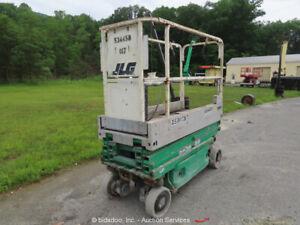 2013 JLG 1930ES 19' Electric Scissor Lift Man Aerial Platform bidadoo