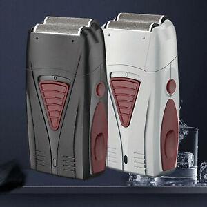 Portable-Comfort-Series-Cordless-Dual-Foil-Rechargeable-Electric-Shaver