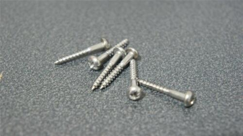 1 of 1 - STAINLESS STEEL STRAT TREMOLO SCREWS. IMPROVE YOUR TONE