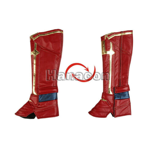 Ms.Marvel Captain Marvel Carol Danvers Cosplay Costume Props Outfit Accessoeies