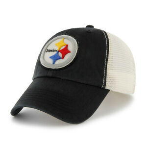 f7e8b940 NFL Pittsburgh Steelers Vintage Washed Twill Cap with Mesh Back by ...