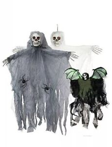 Halloween Large Hanging Reaper Party Prop Horror Ghoul Decoration House Dec