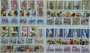 100 diff. cpl. stamp SETS + 250 singles MNH - beautiful topical Composition  Lot
