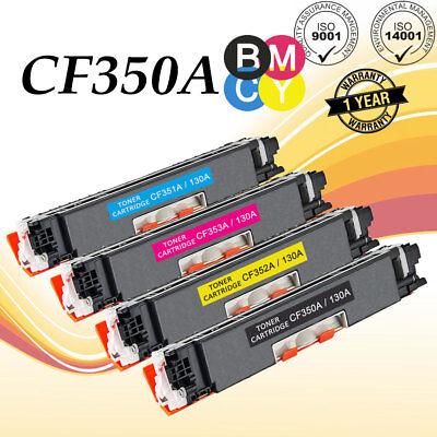 5PK CF350A Color Toner Set For HP 130A LaserJet Pro MFP M175nw M275 M176n M177fw