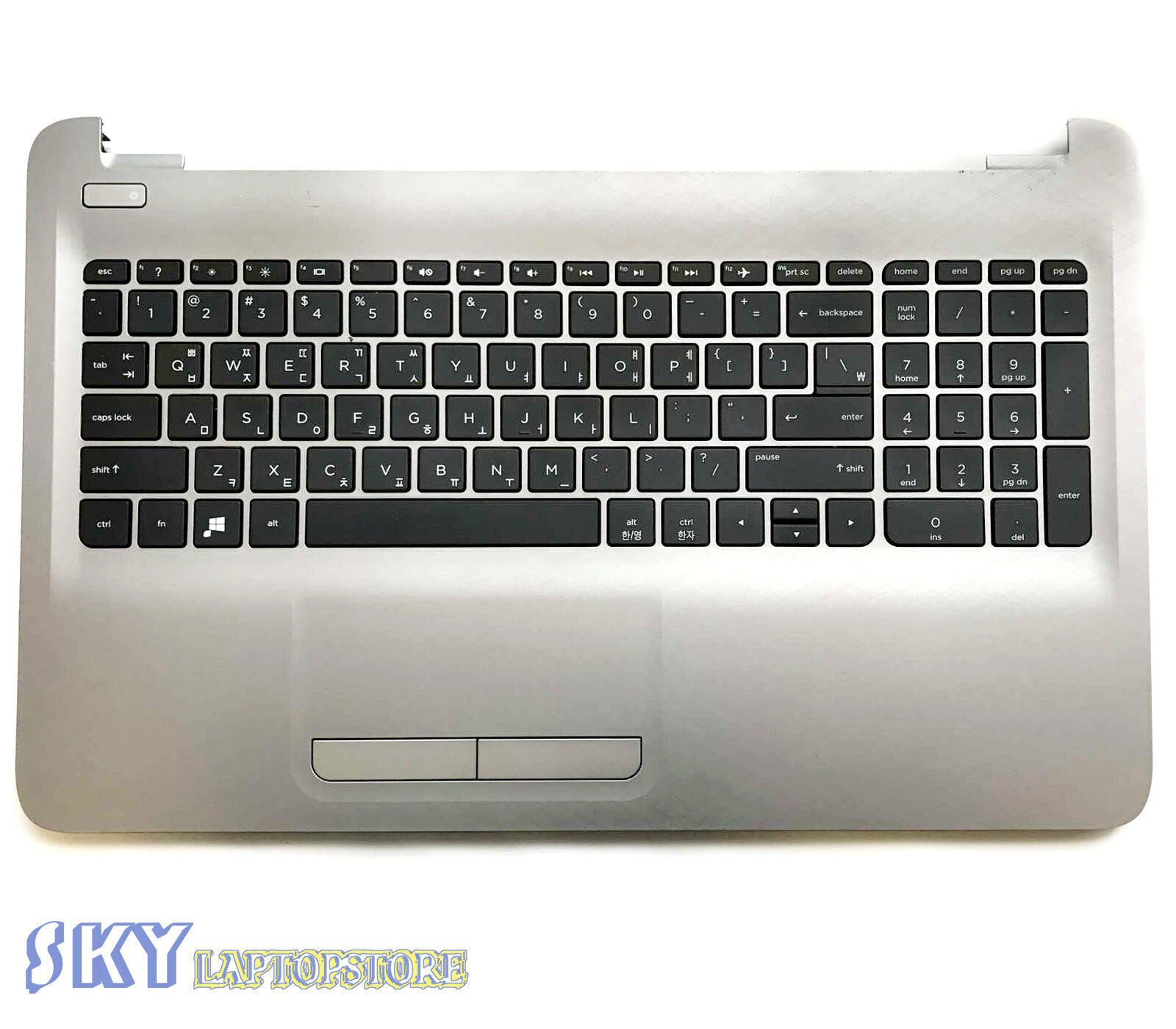 Brand NEW HP 15AY 15BA 15-AY KEYBOARD TOUCHPAD TOP CASE PALMREST 855022-001