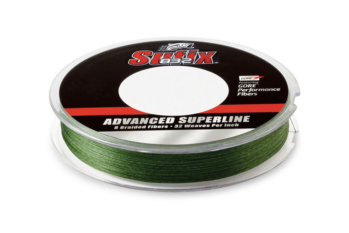 Sufix 832 Braided Advanced  Superline Lo-Vis Green 3500yd FREE SHIPPING WITHIN US  clearance up to 70%