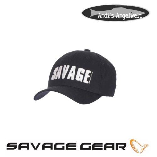 Anglermütze NEU 2018 Savage Gear Basecap Logo Cap