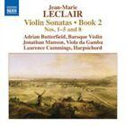 Jean-Marie Leclair - : Violin Sonatas, Book 2 Nos. 1-5 and 8 (2013)