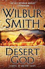 Desert God by Wilbur Smith (2014, Hardcover)