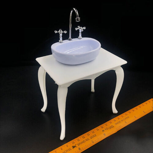 "1//6 Scale Washbasin Washbowl Model Plastic for 12/"" Figure Scene Accessories"