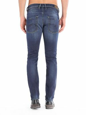 FäHig Diesel Jeans Belther Fit Tapered 0814w Regular Dark Blue Stretch Medium Treated