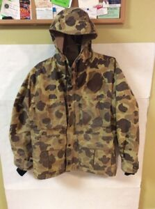 Vintage-AMERICAN-FIELD-Gore-Tex-Duck-Hunting-Jacket-Coat-Made-In-USA-Sz-S-M