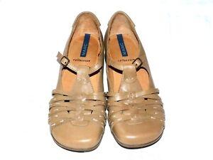 MARC-Damen-Schuhe-Pumps-Leder-Gr-37-beige-NEUwertig