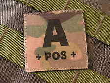 SNAKE PATCH ..:: A + POS + ::.. MULTICAM  GROUPE SANGUIN