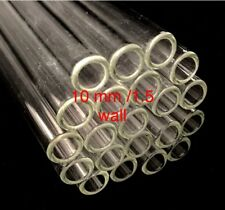 Borosilicate Glass Blowing Tubing 12 Inch Tubes 10mm Od 15mm Thick Wall Pyrex