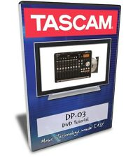 Tascam DP-03 DVD Video Tutorial Manual Help