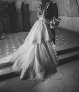 Designer Brautkleid | Designer Brautkleid Gr S 36 Ian Stuart Hochzeistkleid Prinzessin