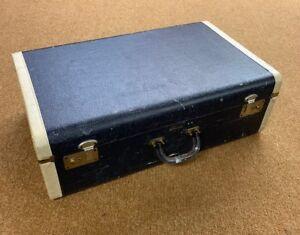 Strat-O-Way-Vintage-Northwestern-Luggage-Seattle-Denim-Blue-15-5-x-25-75-x-8-75