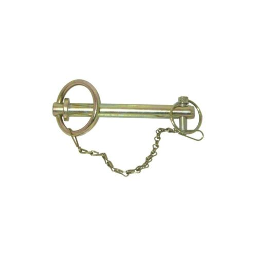 """6/"""" x 3//4/"""" with Locking Pin /& Chain Tractor Quad Bike 152mm x 19mm Tow Pin"""