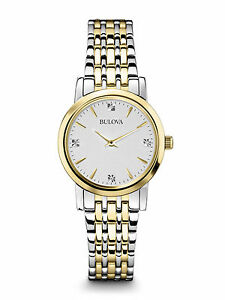 bulova s 98p115 accented silver and gold