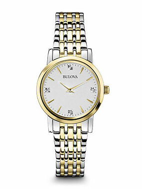 Bulova 98P115 Diamond Accented Women's Watch