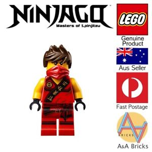 Genuine-LEGO-Minifigure-NINJAGO-Sleeveless-Kai-The-Ninjago-Movie-LIMITED