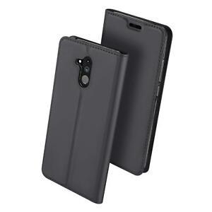 Handy-Huelle-Huawei-Mate-20-Lite-Book-Case-Schutzhuelle-Tasche-Slim-Flip-Cover