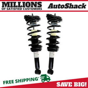 PAIR Rear Complete Strut /& Coil Spring Assembly 2