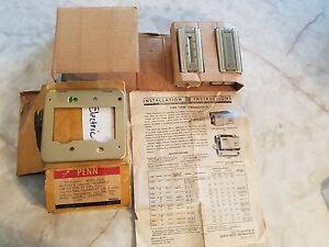 Vintage Chryser/Penn Thermostat NEW IN BOX Historic Preservation Rennovation