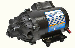 Details about EVERFLO 12 Volt 7 0 GPM Diaphragm Water Transfer Pump for  Motorhomes / Trailers