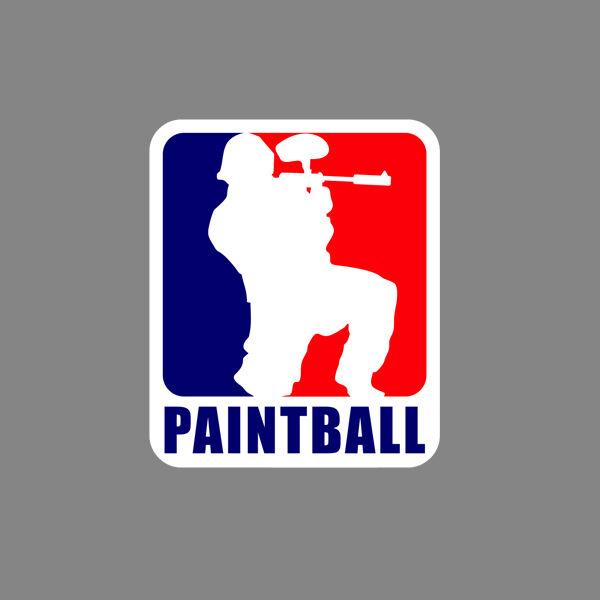 Paintball sticker vinyl decal car funny addict window gun paint ball splat mask