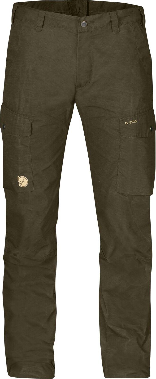Fjällräven ruaha trs. 81185 Dark verde oliva g-1000 Lite pantalones outdoorhose wanderhose