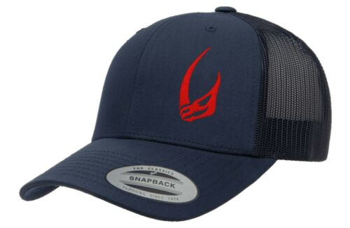 Trucker Snapback Clan of Two Signet MANDO embroidered Flexfit Multicam Cap