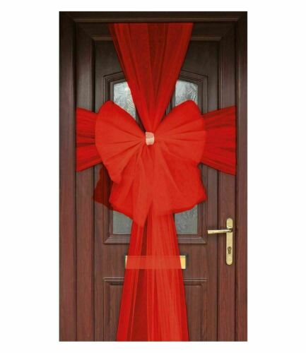 Adult Door Decoration Bow Kit Unisex Fancy Outdoor Birthday Party Accessory