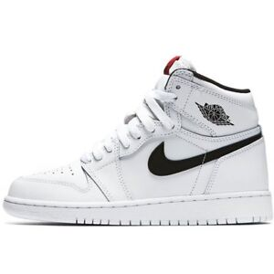 finest selection cab1b 4c3df Image is loading Nike-YOUTH-Air-Jordan-1-High-OG-BG-