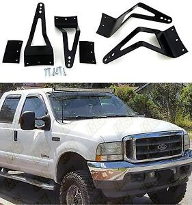 50 to 52 light bar mount brackets for 99 15 ford f350 250 super image is loading 50 to 52 034 light bar mount brackets aloadofball Image collections