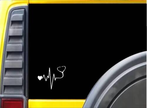 "Autoaufkleber Stethoskop  doctor  Nurse Herzen J772 6 /"" Aufkleber"