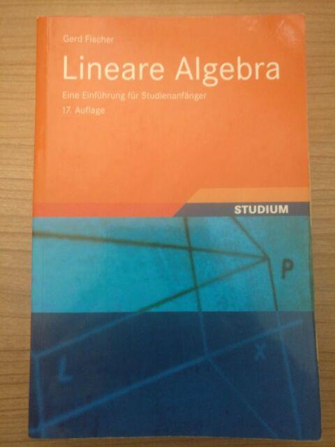 Lineare Algebra, Gerd Fischer, 17. Auflage
