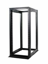 "27U 4 Post Open Frame Server Rack Enclosure 19"" Adjustable Depth"