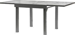 Détails sur IB-Style ® - diplomate Quadro ausziehtisch 90-180 cm Alu Table  de jardin mobilier de jardin- afficher le titre d\'origine