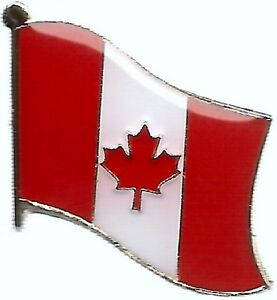 Canadian Flag Canada Lapel Souvenir PIN Celebrating Canada's 150th Anniversary