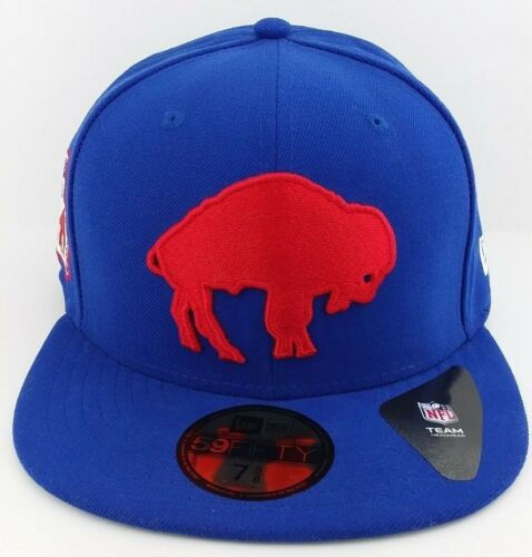 Buffalo Bills New Era 59FIFTY fitted//hat//cap//est.1960 patch//NFL//throwback