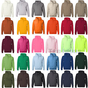 JERZEES Mens NuBlend Hooded Sweatshirt Fleece Pullover Hoodie S ...