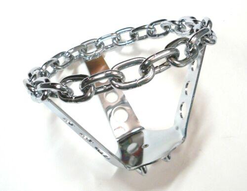 Lowrider Bike Cruiser Chain STEERING WHEEL Chrome