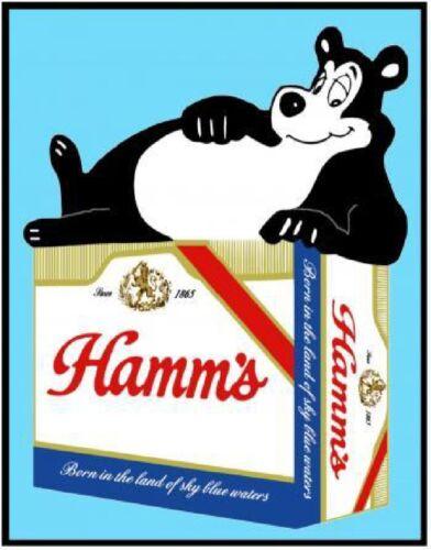 Hamms-Beer-Bear-12-Pack-Refrigerator-Tool-Box-Magnet