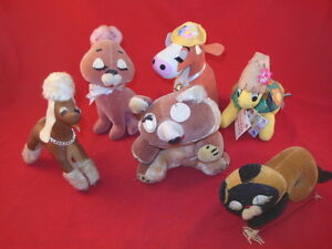1T Group Of DAKIN DREAM PETS OLD Made In Japan And New Reproductions CUTE!!